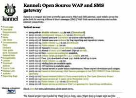 Kannel.org thumbnail