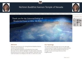 Kannon-temple-nevada.org thumbnail