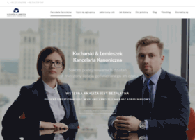 Kanonicznakancelaria.pl thumbnail