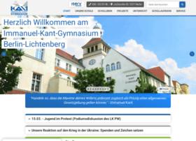 Kant-gymnasium.de thumbnail