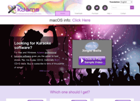 Karaoke.kjams.com thumbnail