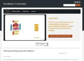 karatbarscorporate.com at WI. Karatbars Corporate - Home
