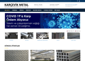 Karcevikmetal.com.tr thumbnail