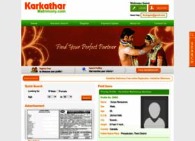 Karkatharmatrimony.com thumbnail
