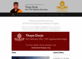 Karmapa-news.org thumbnail