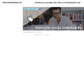 Kartaplnapenazi.sk thumbnail