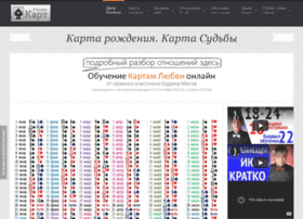 Karty-lubvi.ru thumbnail