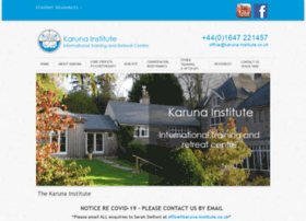 Karuna-institute.co.uk thumbnail