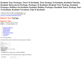 Kashmirtourpackages.net.in thumbnail