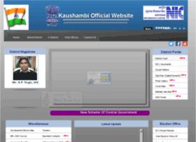 Kaushambhi.nic.in thumbnail
