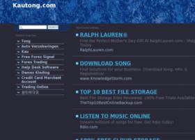 Kautong.com thumbnail