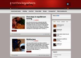 Kayahara.ca thumbnail