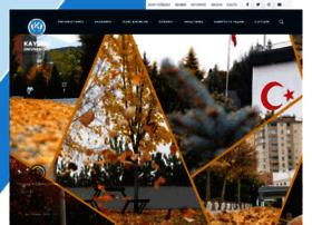 Kayseri.edu.tr thumbnail