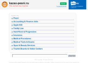 Kazax-pesni.ru thumbnail