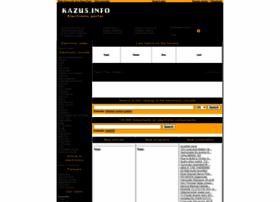 Kazus.info thumbnail