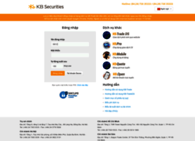 Kbtrade.kbsec.com.vn thumbnail