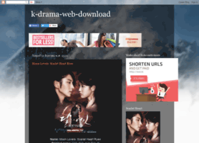 Kdramawebdownload.blogspot.com thumbnail