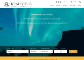 Keahotels.is thumbnail