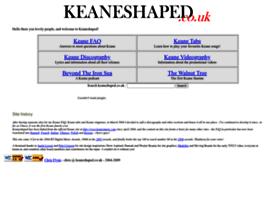 Keaneshaped.co.uk thumbnail