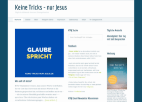 Keine-tricks-nur-jesus.de thumbnail