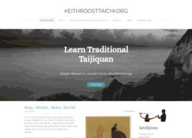 Keithroosttaichi.org thumbnail