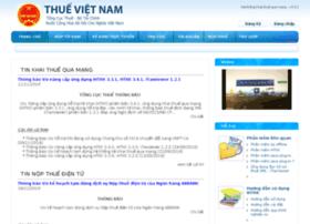 Kekhaithue.gdt.gov.vn thumbnail