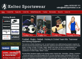 Keltecsportswear.co.uk thumbnail