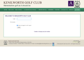 Kenilworthgolfclub.co.uk thumbnail
