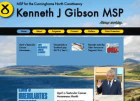 Kennethgibson.org thumbnail