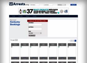 Kentucky.arrests.org thumbnail
