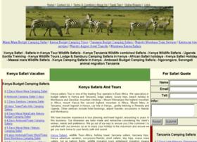 Kenyasafarisandtours.com thumbnail
