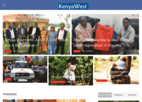 Kenyawest.co.ke thumbnail
