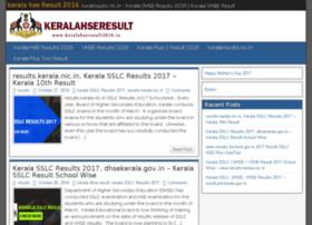Keralahseresult2016.in thumbnail