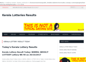 Keralalotteriesresults.com thumbnail