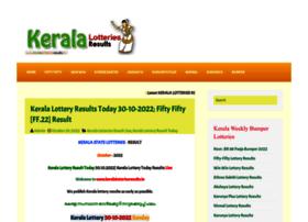 Keralalotteriesresults.in thumbnail