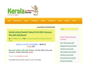 Keralalotteriesresults.org thumbnail