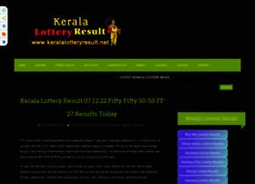 Keralalotteryresult.net thumbnail