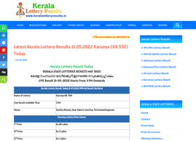 Keralalotteryresults.in thumbnail
