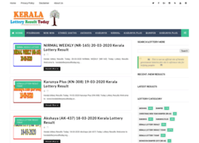Keralalotteryresulttoday.org thumbnail