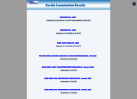 Keralaresults.nic.in thumbnail