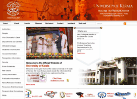 Keralauniversity.edu thumbnail