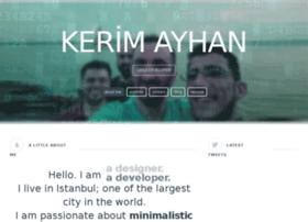 Kerimayhan.com.tr thumbnail