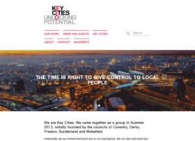 Keycities.co.uk thumbnail