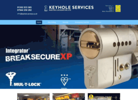 Keyhole-services.co.uk thumbnail