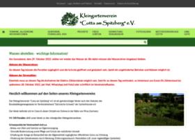 Kgv-cotta-am-spitzberg.de thumbnail