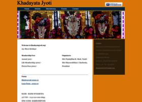 Khadayatajyoti.org thumbnail
