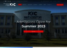 Kic.ac.ae thumbnail