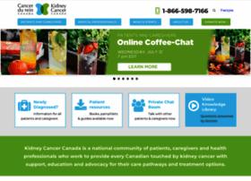 Kidneycancercanada.org thumbnail