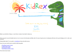 Kidrex.org thumbnail