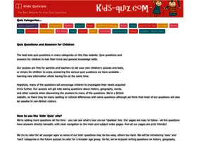 Kids-quiz.com thumbnail